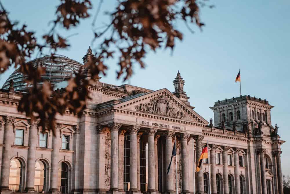 Der Reichstag berlin
