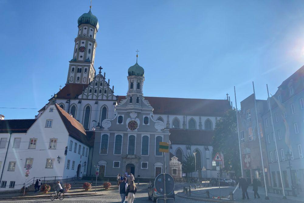 St. Ulrich und Afra Augsburg sehenswürdigkeiten