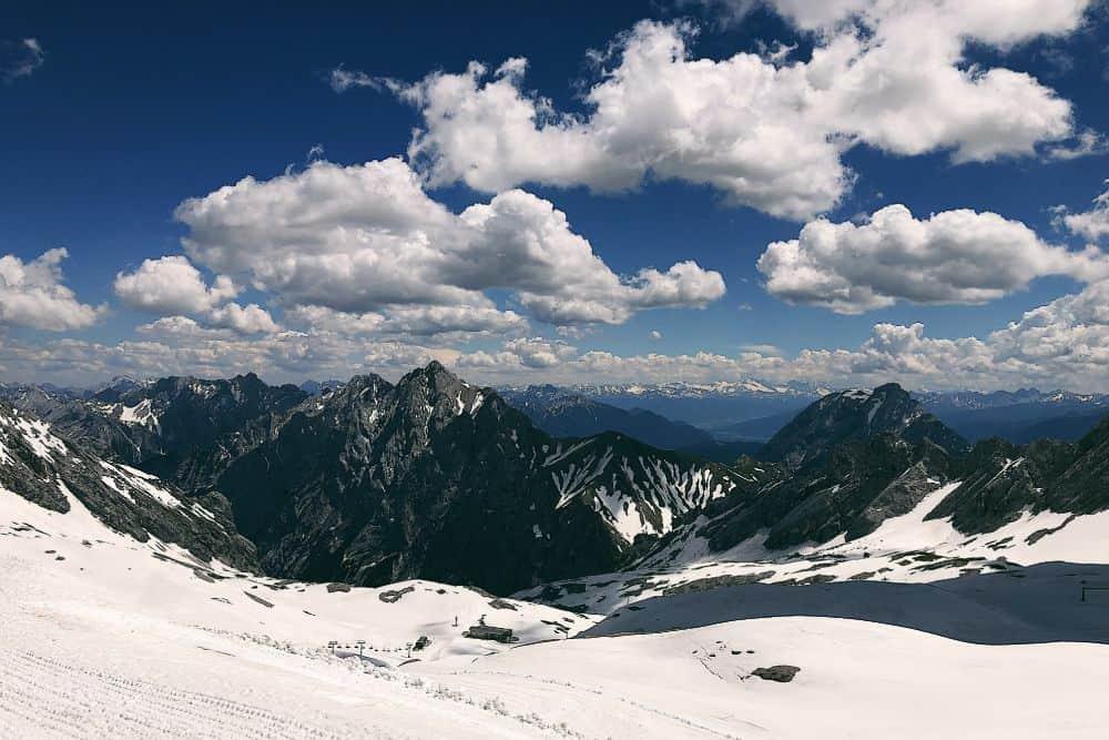 Garmisch-Partenkirchen skigebiet