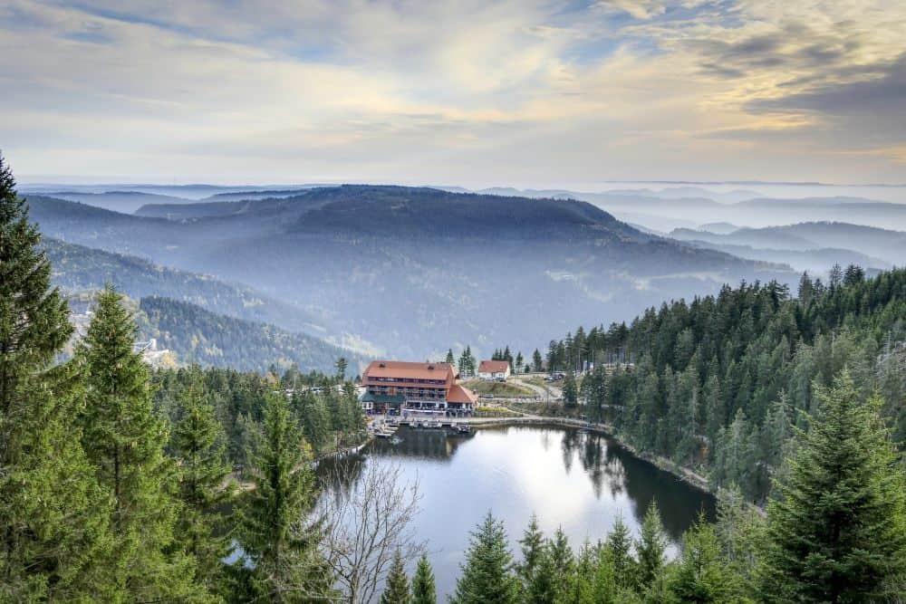 Mummelsee Schwarzwald