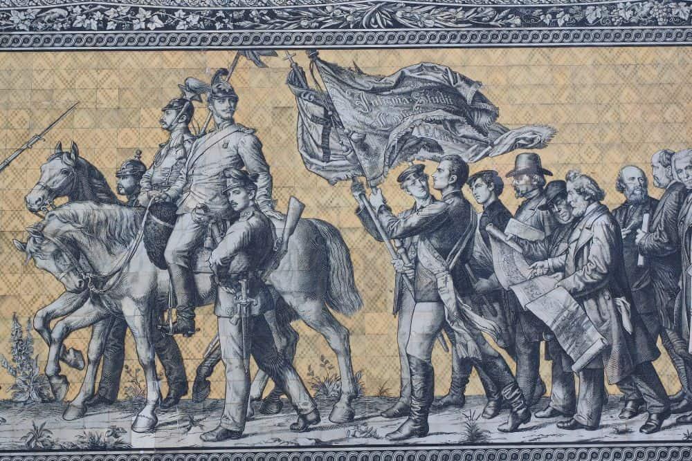 Georgentor und Fürstenzug